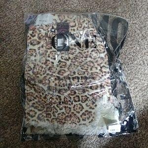 One teaspoon leopard skirt